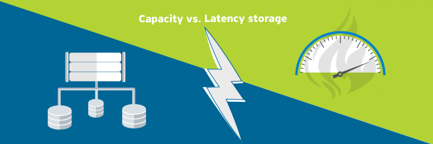 Latency vs. Capacity storage