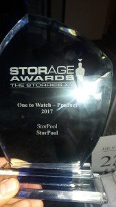 One to Watch Product, Storage awards - StorPool
