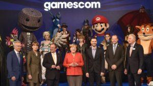 Merkel-at-Gamescom