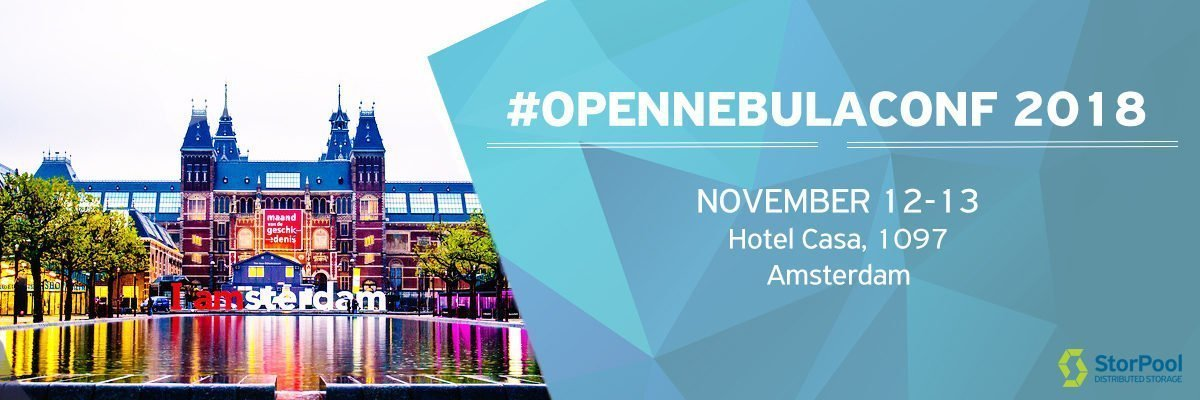 OpenNebulaConf 2018