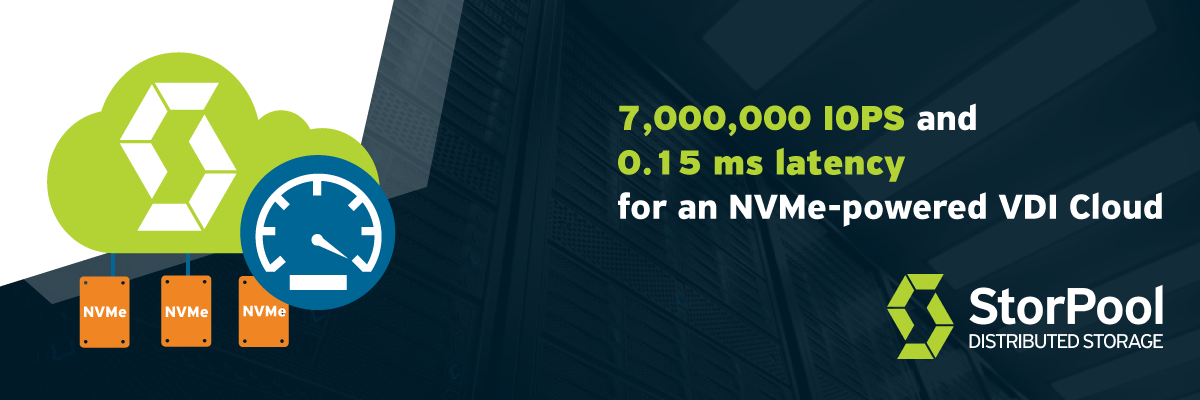 NVMe-powered VDI cloud