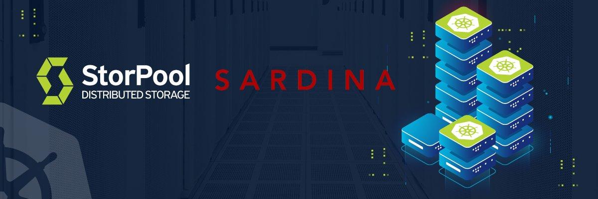 Sardina and StorPool Partnership