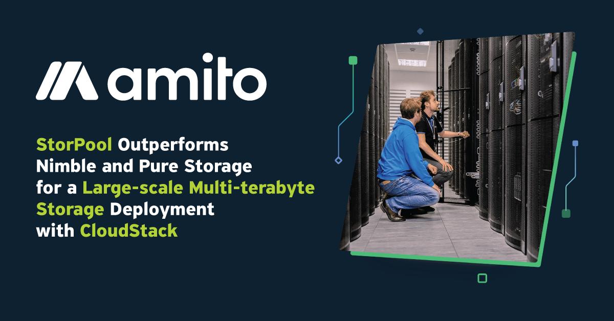 Amito CloudStack Storage