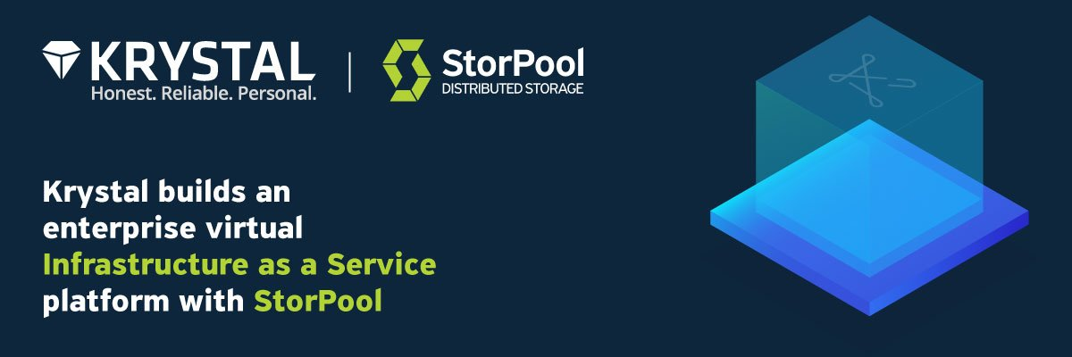 Krystal builds Infrastructure as a Service with StorPool