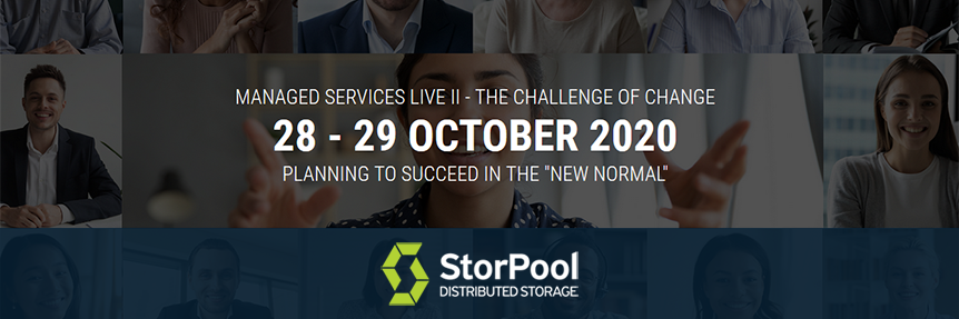 StorPool Storage - Gold Sponsor at Managed Services Summit Live II 2020 - MSPs