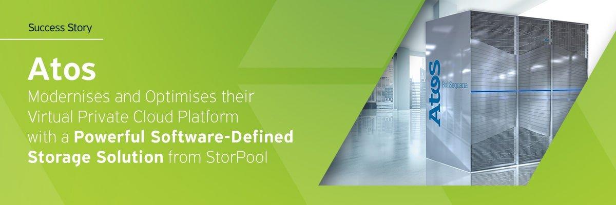 Atos modernizes its cloud platform with StorPool Storage